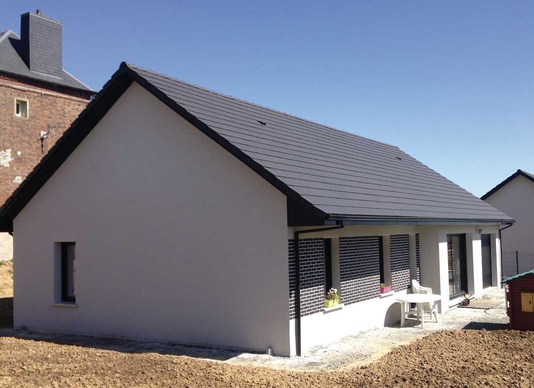 Maison flamenko constructeur de maisons individuelles normandie maisons individuelles nmi for Maisons individuelles