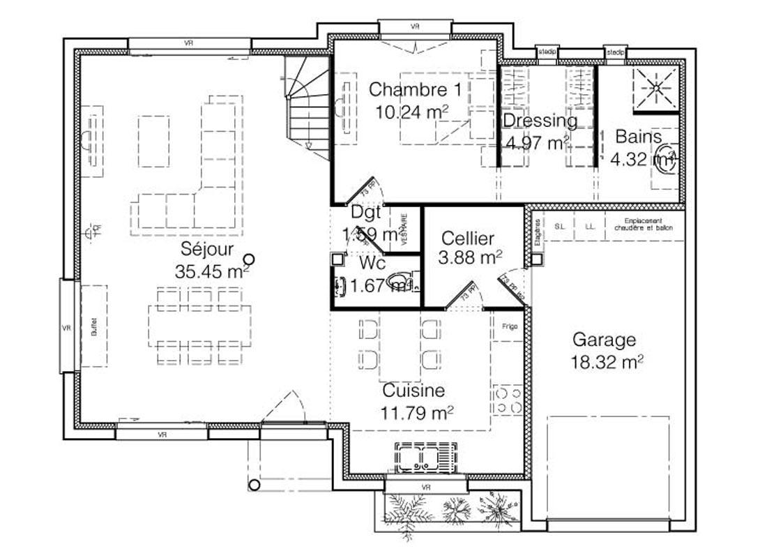 Maison Ambre Construction Maison Familiale Et Spacieuse