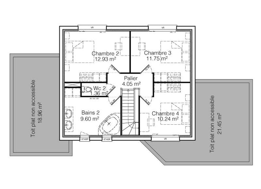 Maison Helene Construction Maison Contemporaine Et Familiale