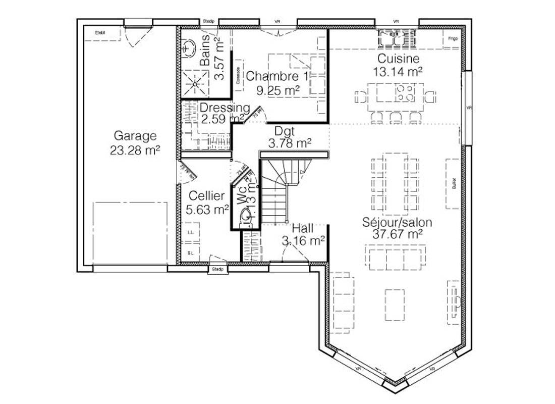 Maison Jade Construction Maison Atypique Avec Mezzanine