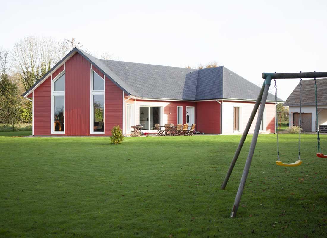Maison En Bois Normandie bois habitat, des maisons contemporaine à ossature bois