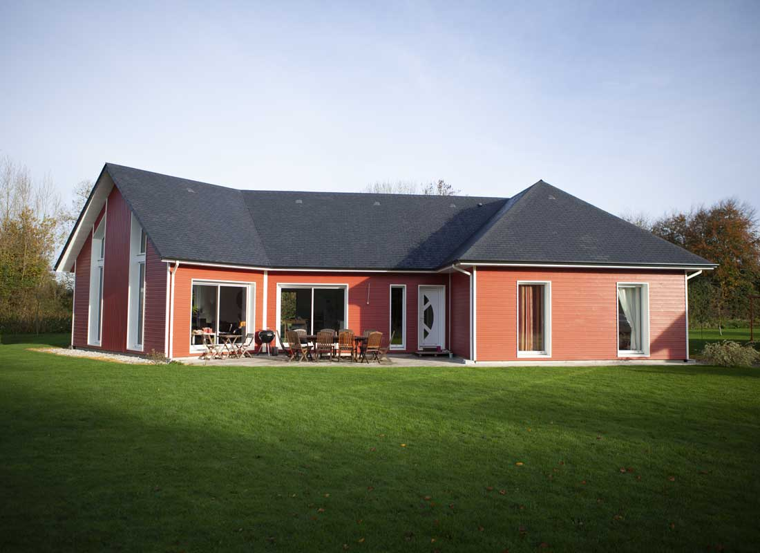 Maison En Bois Normandie nos réalisations - constructeur de maisons individuelles